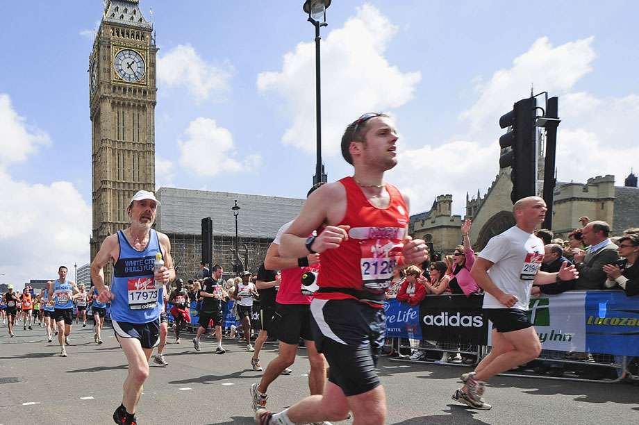 London Marathon: record breaking