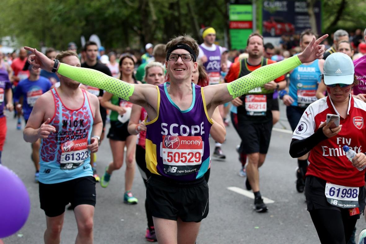 London Marathon (Photograph: Chris Radburn/Alamy)
