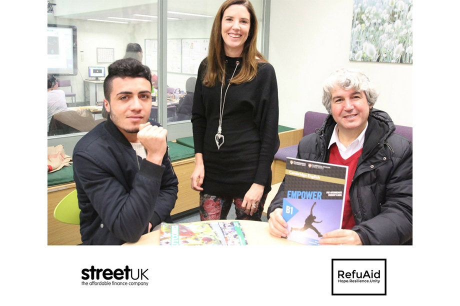RefuAid joined forces with Street UK