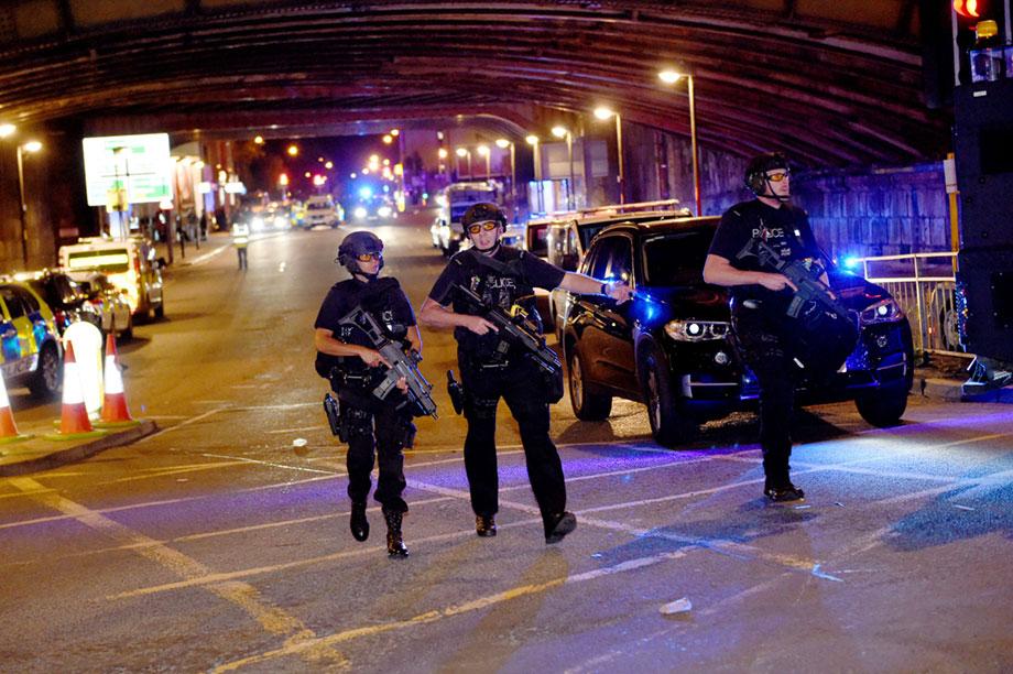 Manchester bombing (photograph: Shutterstock)