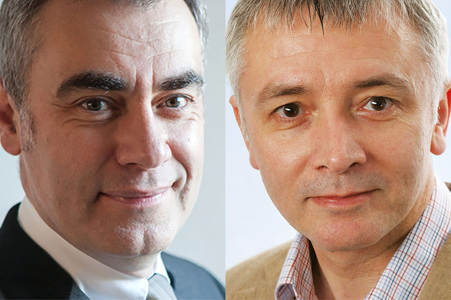 Ian MacQuillin (left) and Adrian Sargeant