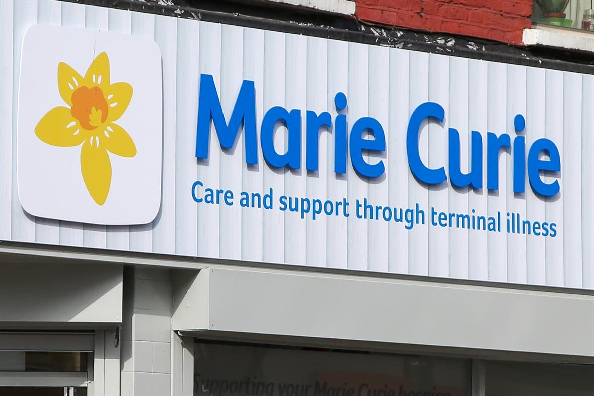 A Marie Curie store in London (Photograph: Dinendra Haria/Sopa Images/LightRocket via Getty Images)
