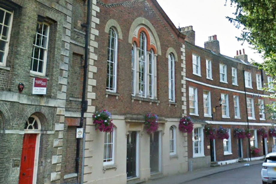 The Masonic Rooms in Wisbech, Cambridgeshire