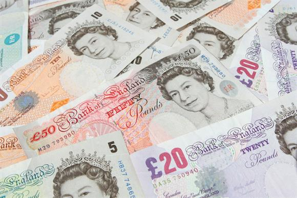 Cash: total held by sector's top 5,000 rose by 6 per cent