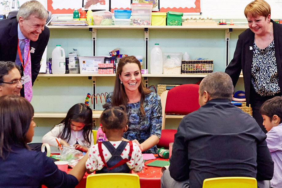 The duchess visits Action for Children