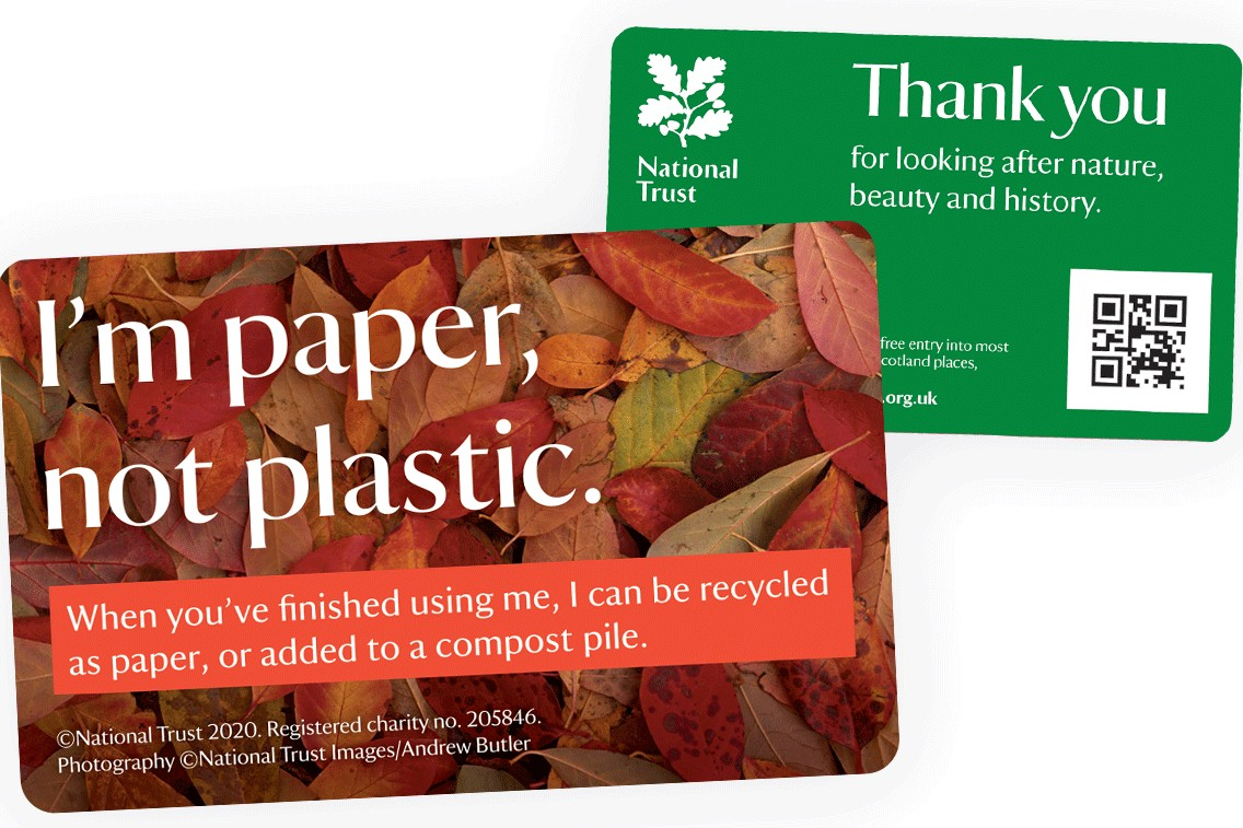 National Trust membership cards