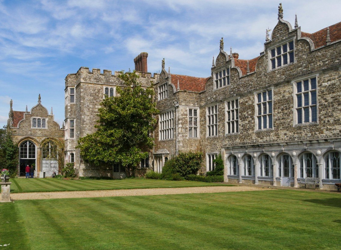 The National Trust's Knole country house in Kent (Photograph: NT Images/Jo Hatcher)