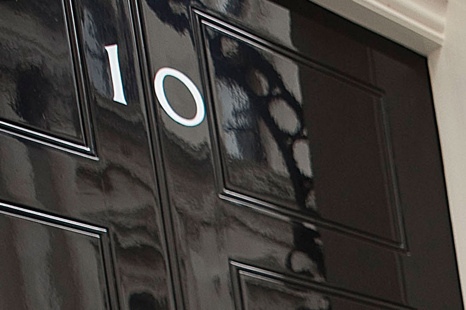 Number 10: letter sent to the Prime Minister