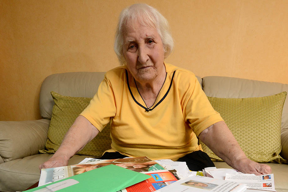 Olive Cooke: told newspaper she received 267 pieces of direct mail in one month