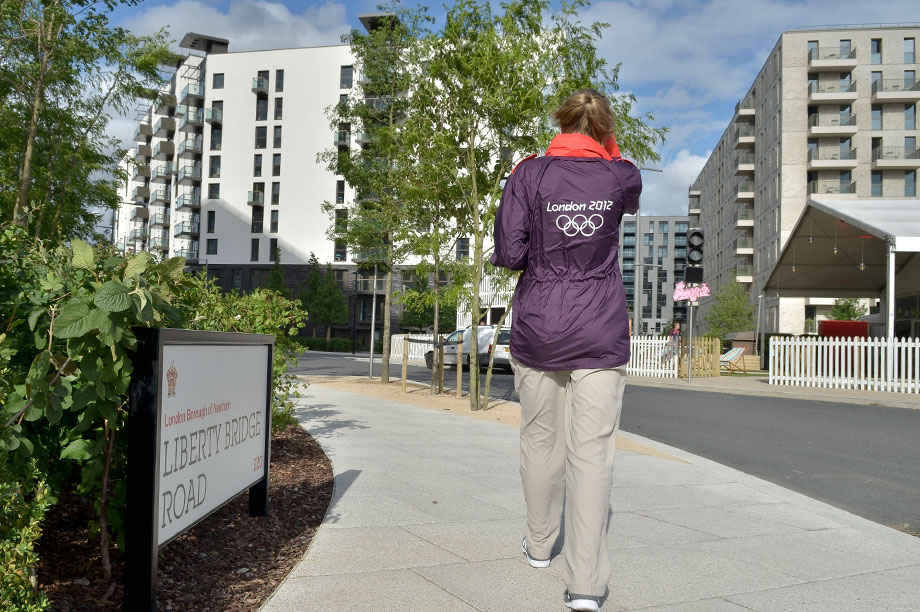 The Olympic Village