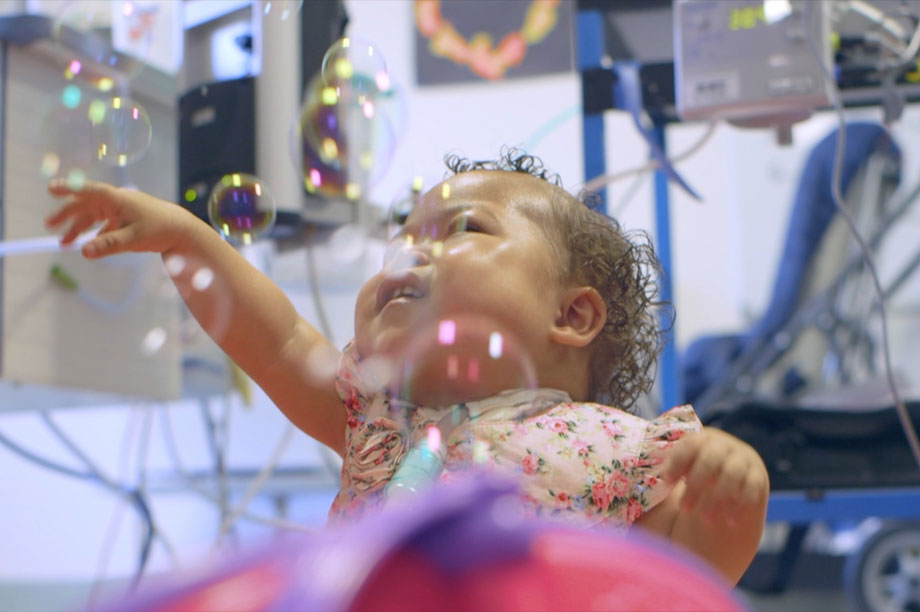 Orla, one of the patients featured in the One Day at GOSH video
