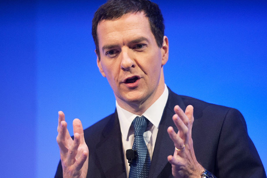 George Osborne at the Institute of Directors' annual convention