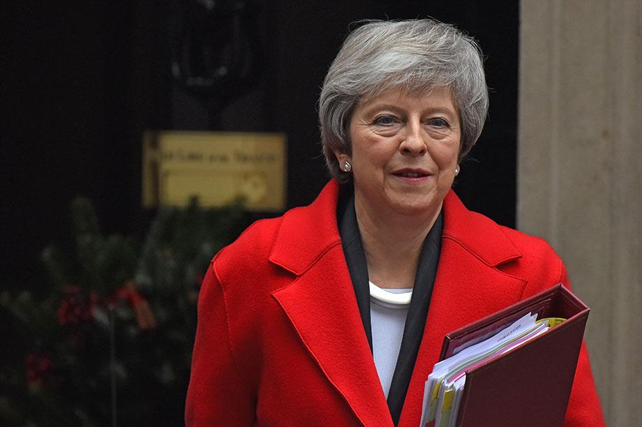Theresa May (Photograph: PA)