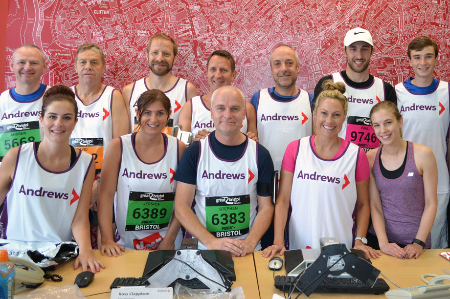 Staff took part in a number of fundraising efforts