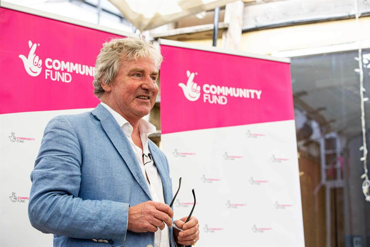 Peter Ainsworth (Photograph: The National Lottery Community Fund)