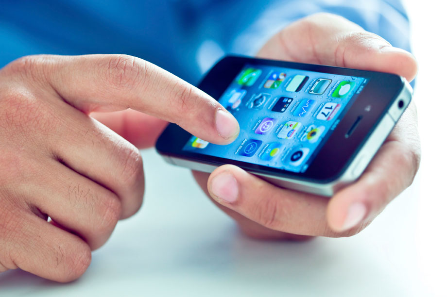 App can download to Apple and Android mobile phones