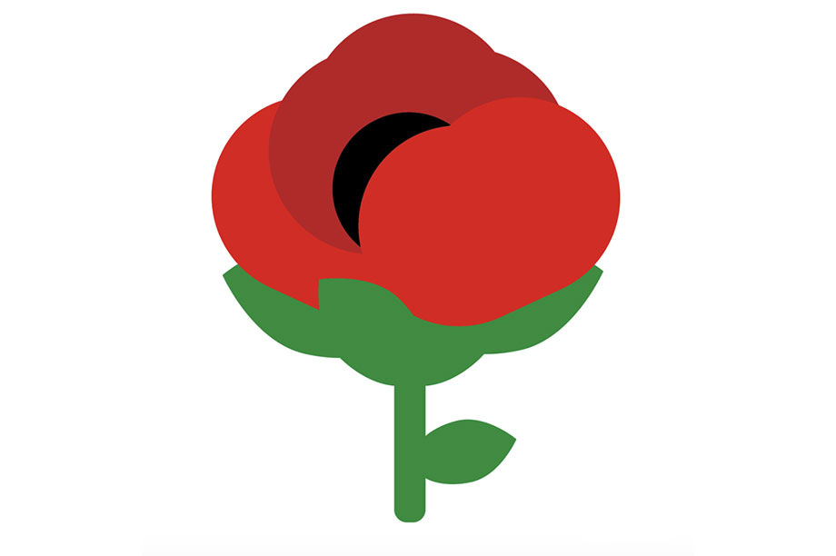 Poppy emoji