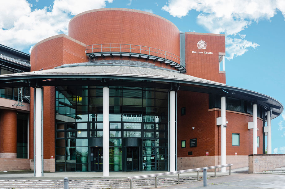 Preston Crown Court, where the trial is being held