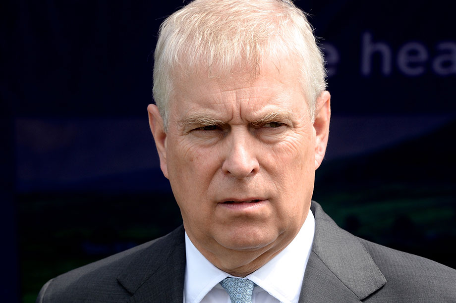 Prince Andrew (Photograph: David Moffitt/Getty Images)