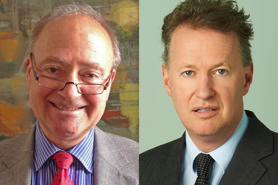 Prins (left) and Fraser