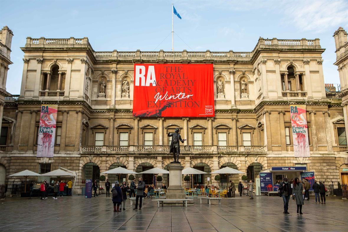 The Royal Academy (Photograph: Pietro Recchia/Sopa Images/LightRocket/Getty Images)