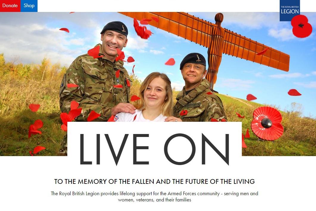Royal British Legion website