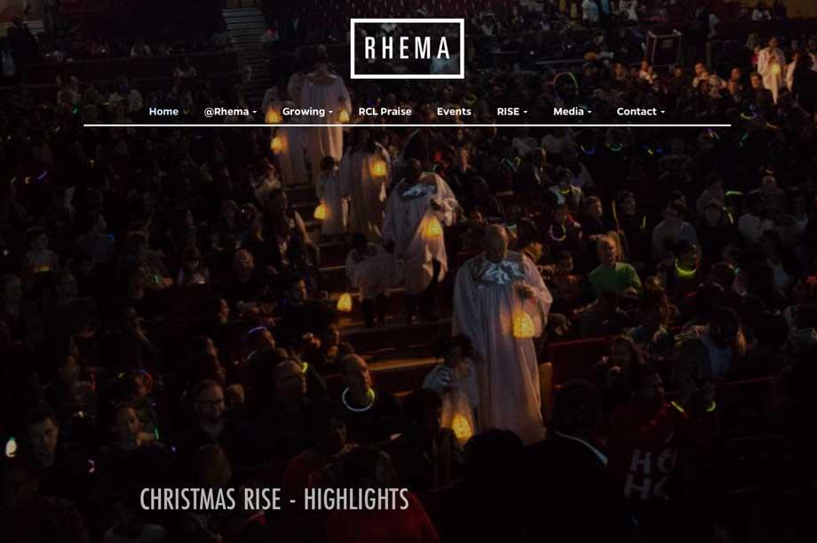 Rhema Church website