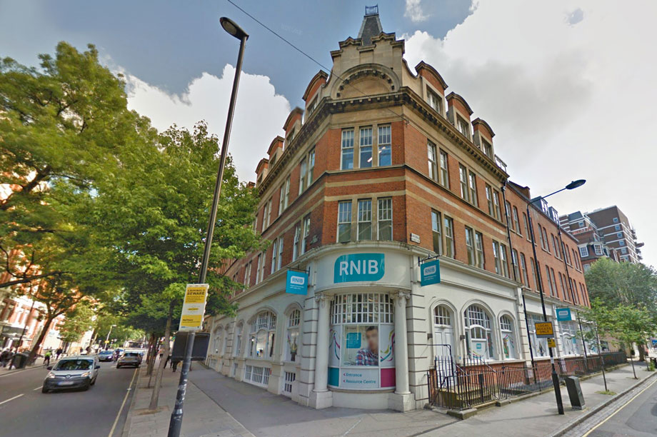 RNIB offices in London