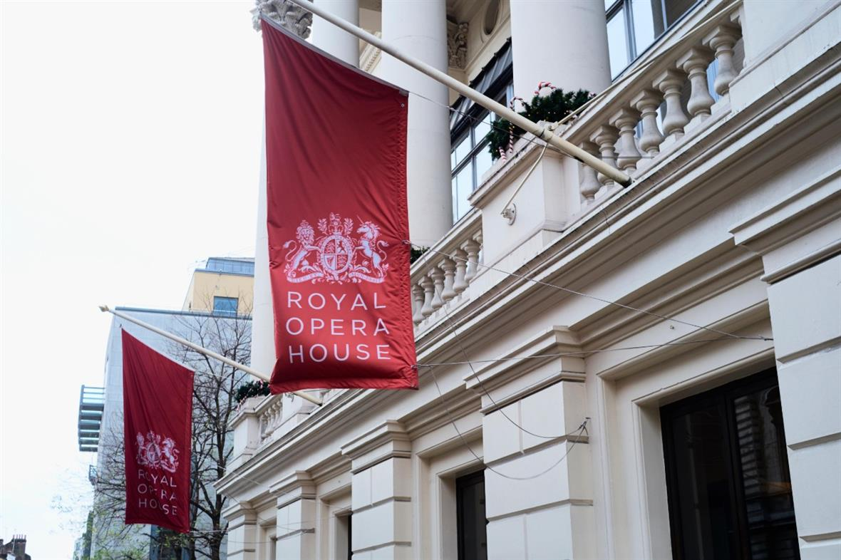 The Royal Opera House in London (Photograph: Nando Machado/Alamy)