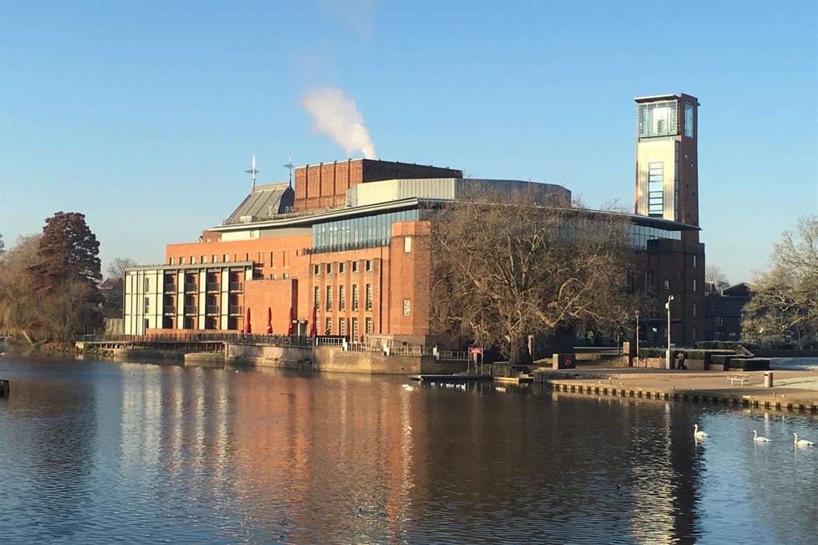 The Royal Shakespeare Theatre (Photograph: Jane Ellis)