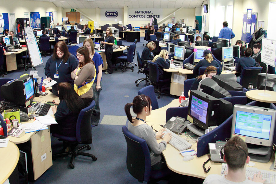 RSPCA national control centre