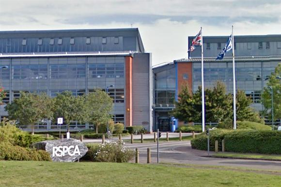 The RSPCA's head office in Southwater, West Sussex