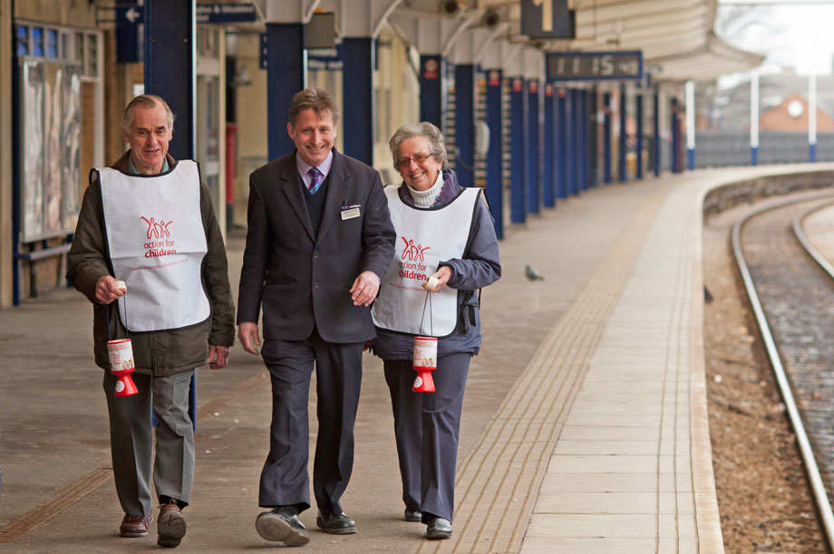 Railway fundraising (Picture: Northern Rail)