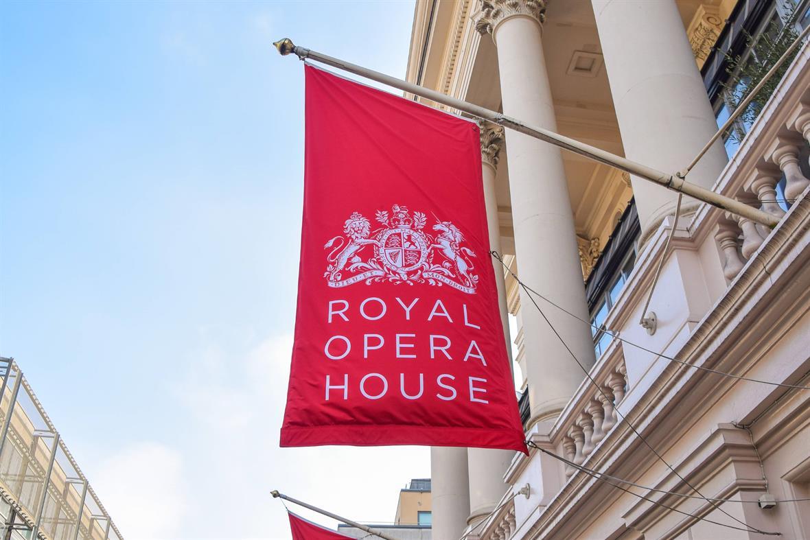 The Royal Opera House (Photograph: Vuk Valcic/SOPA Images/LightRocket/Getty Images)