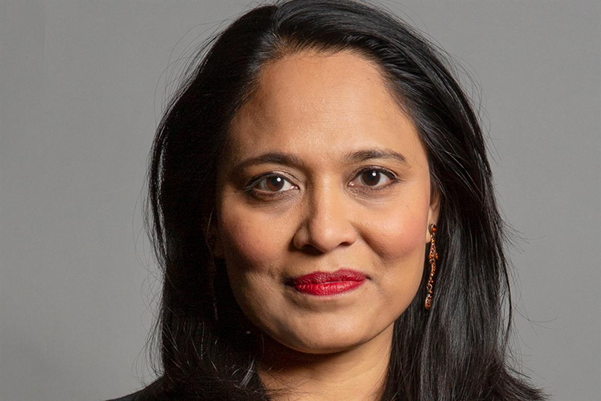 Rushanara Ali (Photograph: David Woolfall/Parliament)