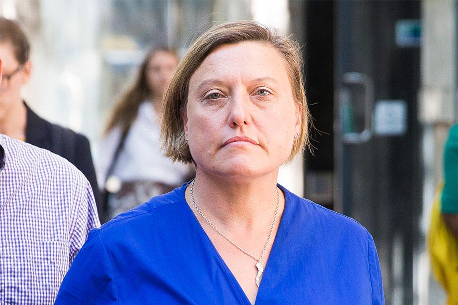 Angela Gibbins (photograph: Henry Nicholls/swns.com)