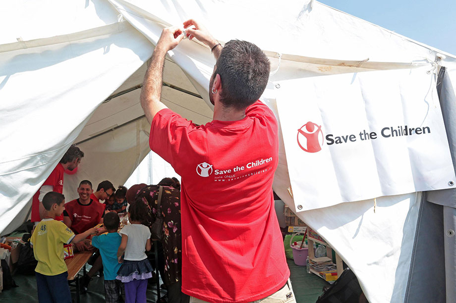 Save the Children International (Photograph: Elisabetta Baracchi/EPA/Shutterstock)