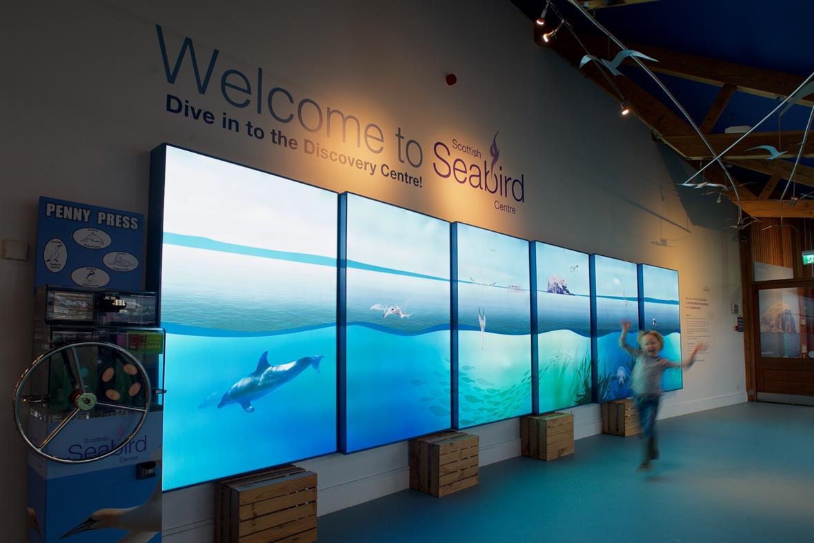 The Scottish Seabird Centre (Photograph: Rob McDougall)