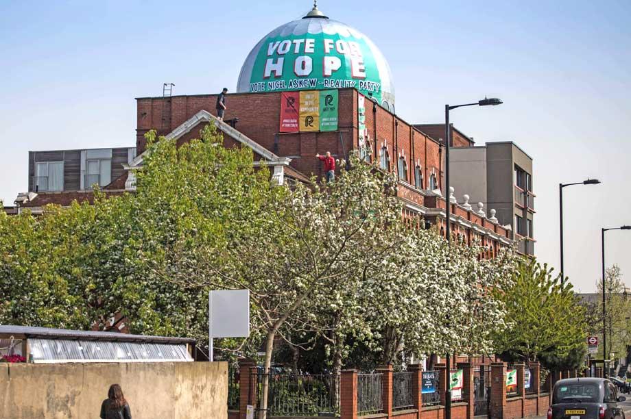 Unauthorised election candidate endorsement at mosque of UK Turkish Islamic Trust