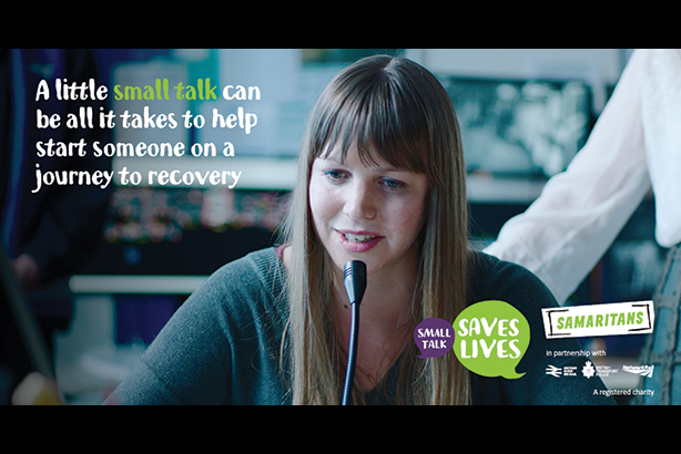 Small Talk Saves Lives: big winner at last year's Campaigns for Good Awards