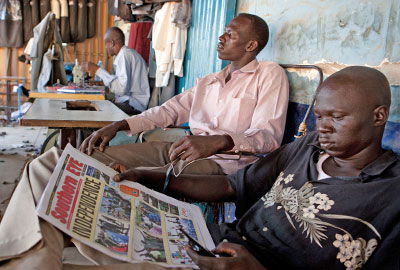 Charities reported difficulties sending money to South Sudan