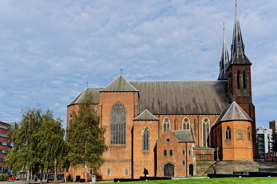 St Chad's Cathedral in the Archdiocese of Birmingham (Photograph: Getty Images)