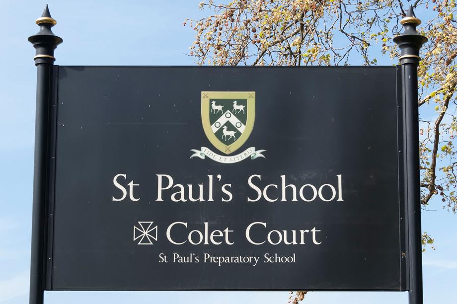St Paul's School, London