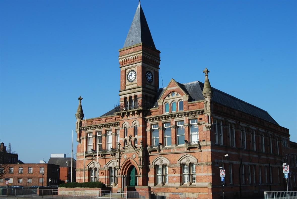 Stretford Public Hall: receiving £68k to help modernise parts of the building