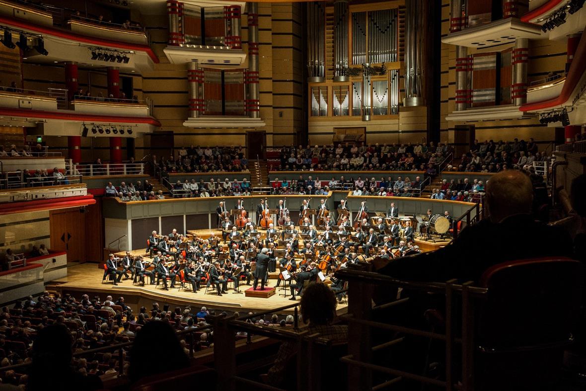 Birmingham Symphony Hall (Photograph: Steve Thorne/Redferns via Getty Images)
