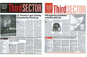 Third Sector: the early years