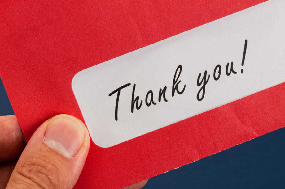 Charities should write thank-you letters to children who fundraise, event hears