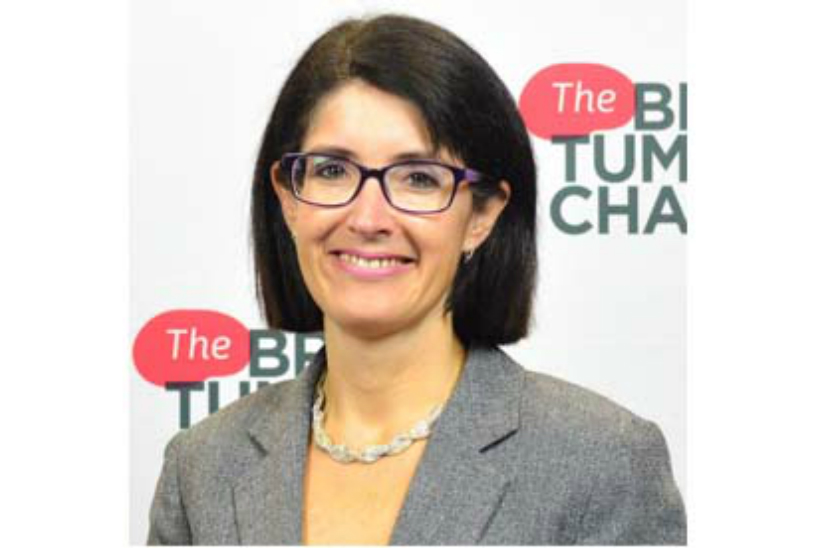 Sarah Lindsell, CEO, The Brain Tumour Charity