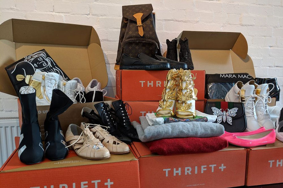 Some of the items donated anonymously to Thrift+