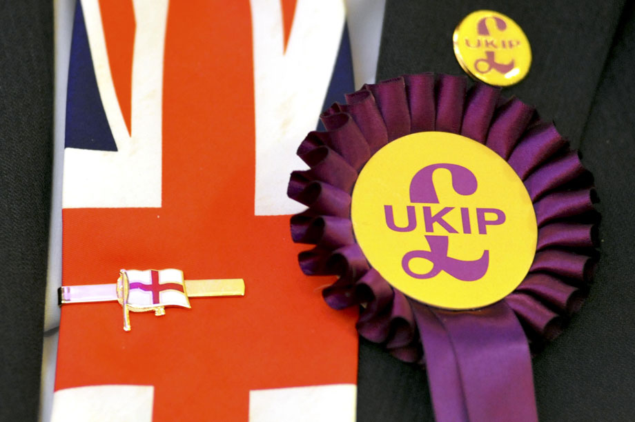 Ukip: less trust in charities